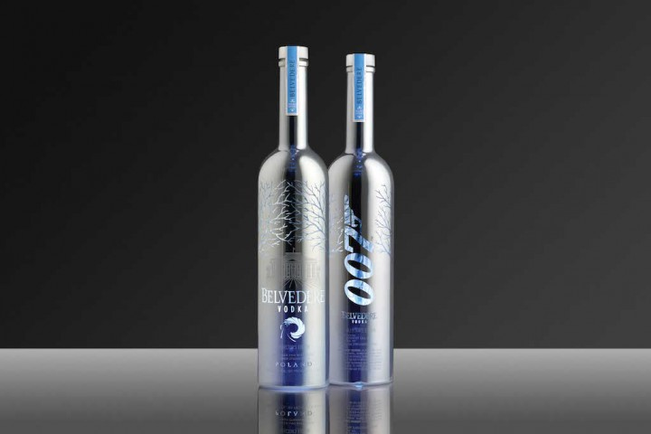 Coolhunts: Belvedere 007 SPECTRUM Limited Edition Bottle @belvederevodka
