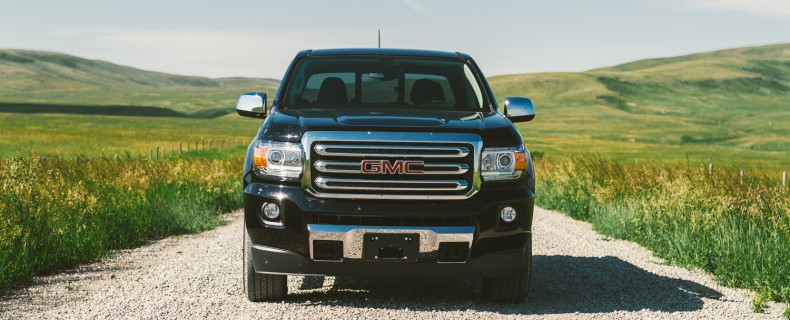 First Drive: 2015 GMC Canyon in Alberta #GMCCanyon