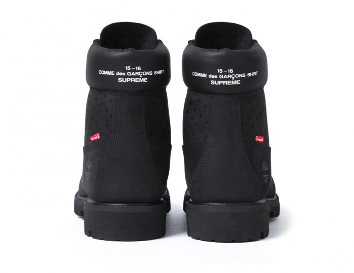 Footwear: CDG x Supreme Timberland 6-Inch Boot