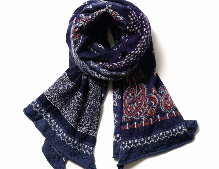Accessories: A Kapital Patchwork Scarf For The Fall