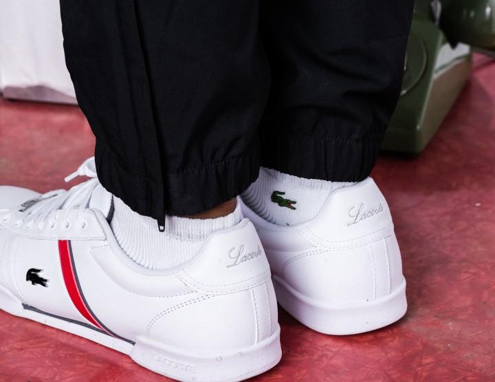 Footwear: Lacoste Deston Sneaker Available Exclusively at Foot Locker @Lacoste @Footlocker