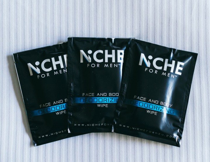 Grooming: Niche Wipes Help You Freshen Up On The Go @nicheformen