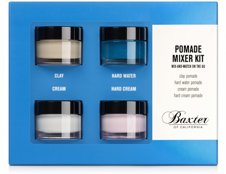 Grooming: Baxter of California Pomade Mixer Kit @BaxterofCA