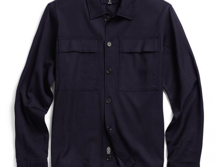 Clothing: Todd Snyder Navy Shirt Jacket @ToddSnyderNY
