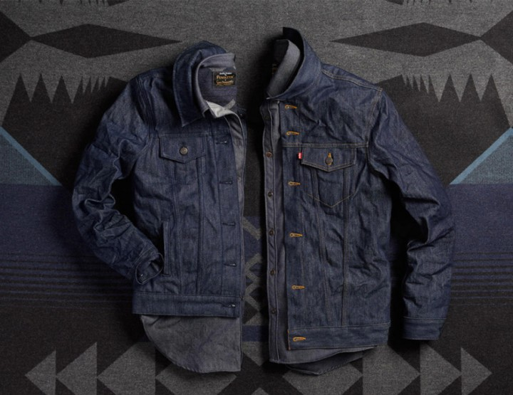 Clothing: Levi's and Pendleton Collaborate To Create An American Classic @LEVIS @PendletonWM