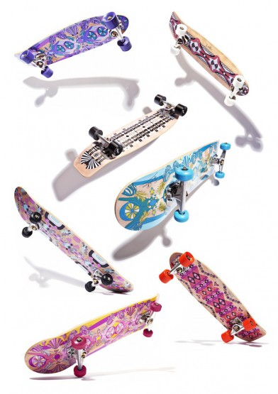 Coolhunts: Emilio Pucci X NOWNESS Skateboard @EmilioPucci @NOWNESS #rollingwithpucci