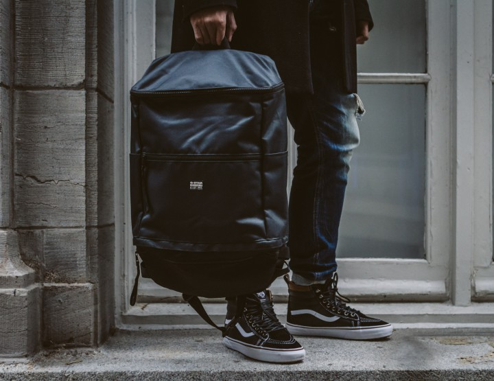 Accessories: A Versatile G-Star Backpack For Your Day-To-Day @GStarRAW