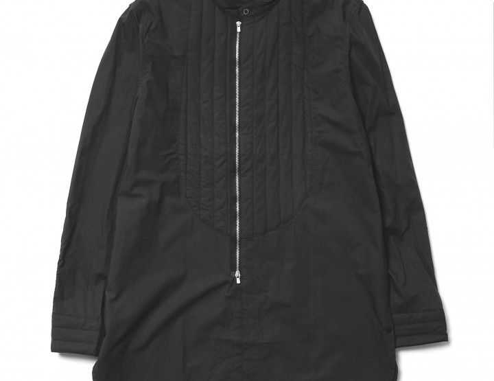 Clothing: Add Length to your Look with nonnative's Stroller Quilted Long Shirt @nonnative
