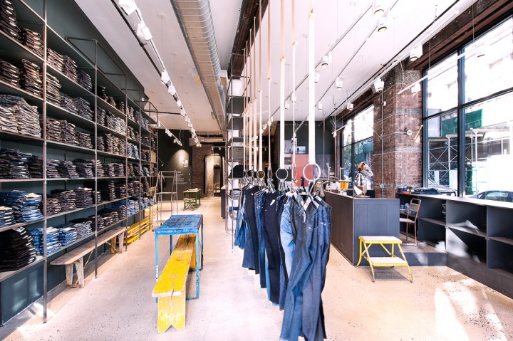 Retail: Nudie Jeans Opens Up Repair Shop In NYC @nudiejeans