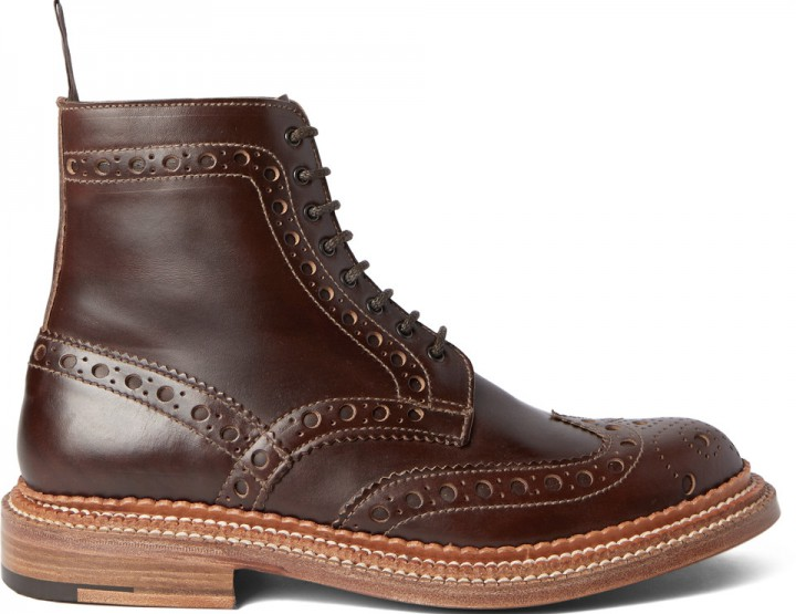 Footwear: These Brogue Boots Will Last A Lifetime @grensonshoes