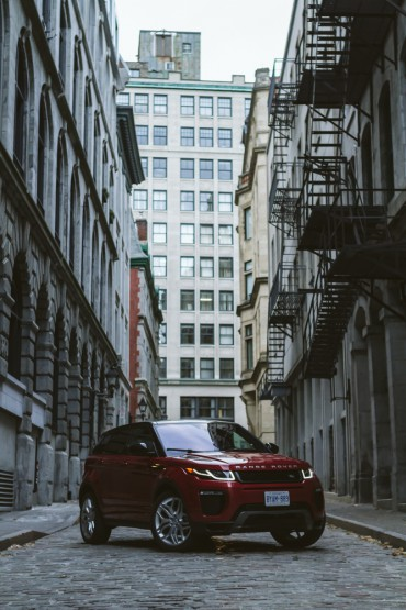 The 2016 Range Rover Evoque is Great For The Urban Jungle @LandRover