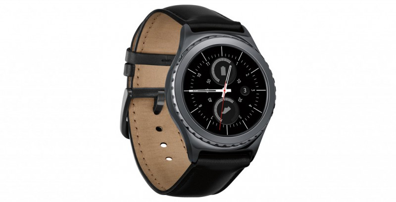 Samsung Gear S2 Classic Smartwatch with Heart Rate