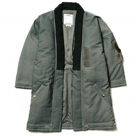 Clothing: The Visvim Sanjuro Kimono Down Jacket