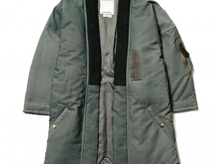 Clothing: The Visvim Sanjuro Kimono Down Jacket
