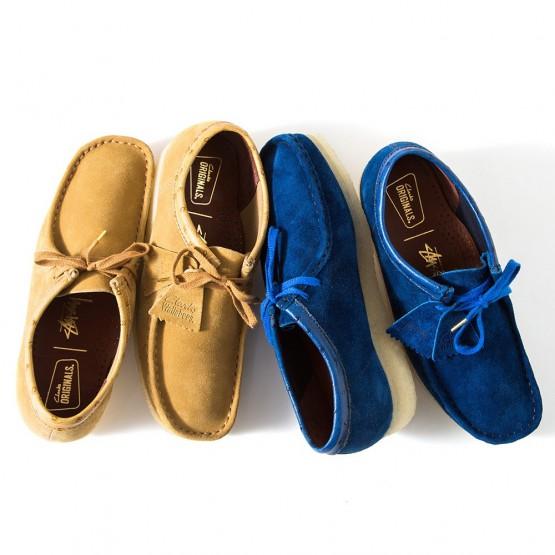 Footwear: Stüssy Presents A Dope Clarks Originals Wallabee @Stussy
