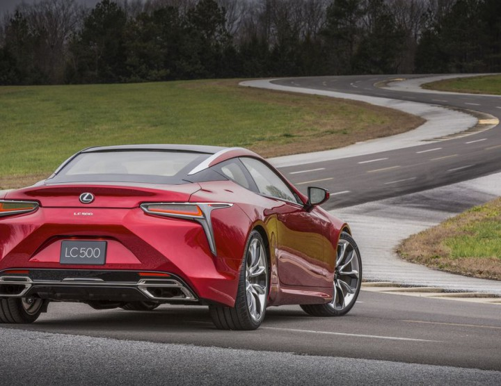 Check Out Lexus' New LC Flagship Coupe @lexuscanada #LexusLC #NAIAS