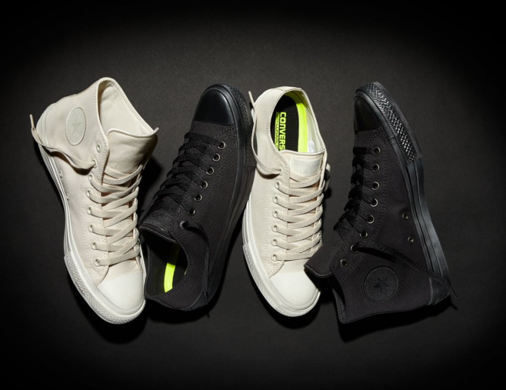 Footwear: Converse Chuck Taylor All Star II Gets The Monochromatic Treatment @converse