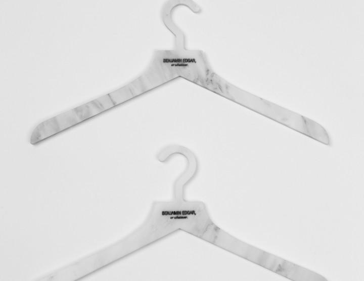 Coolhunts: Hangers You Don't Need But You'll Want Anyway From Benjamin Edgar @benjaminedgar