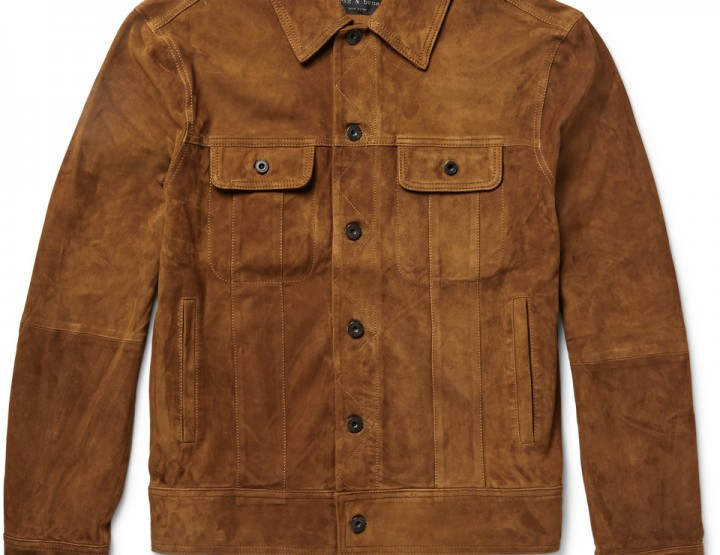 Clothing: Swap Your Denim Jacket For This Suede One From Rag & Bone @rag_bone