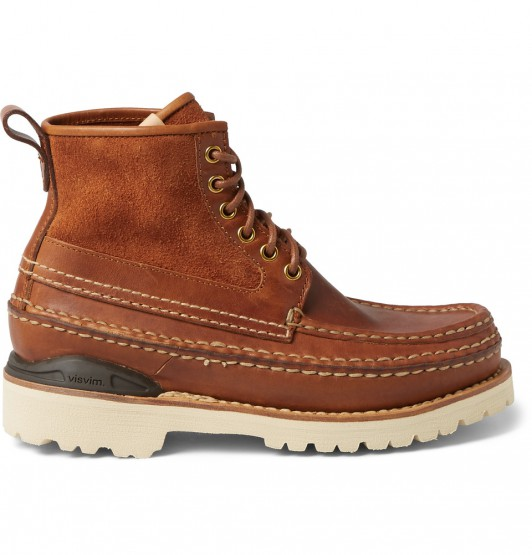What To Wear Next, VISVIM Grizzly Mid-Folk Leather Boots
