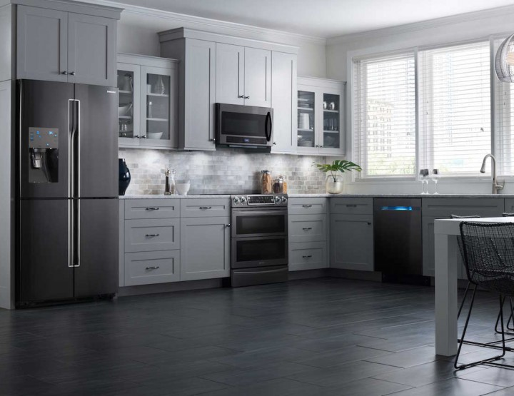 Samsung Releases All-Black Stainless Steel Kitchen Appliances