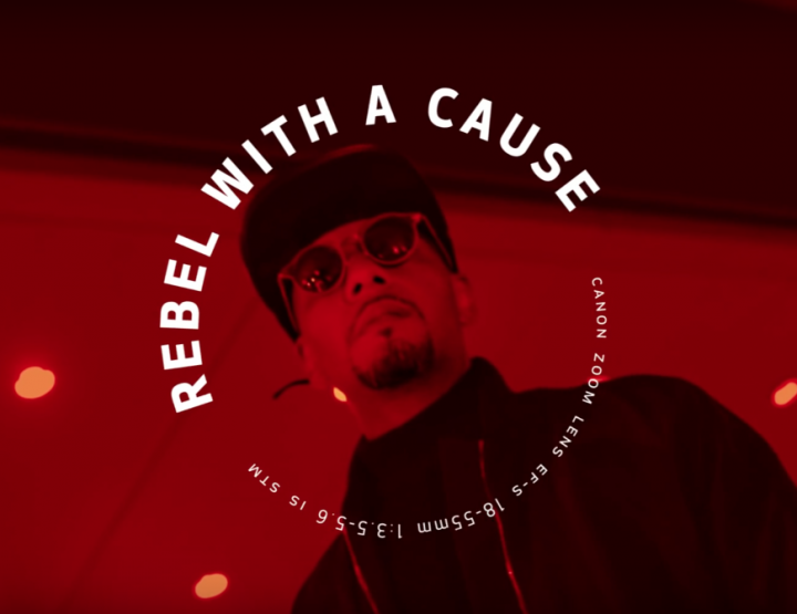 "Watch Swizz Beatz In Canon's ""Rebel With A Cause"" Campaign @CanonUSAimaging #TheUnknowns"