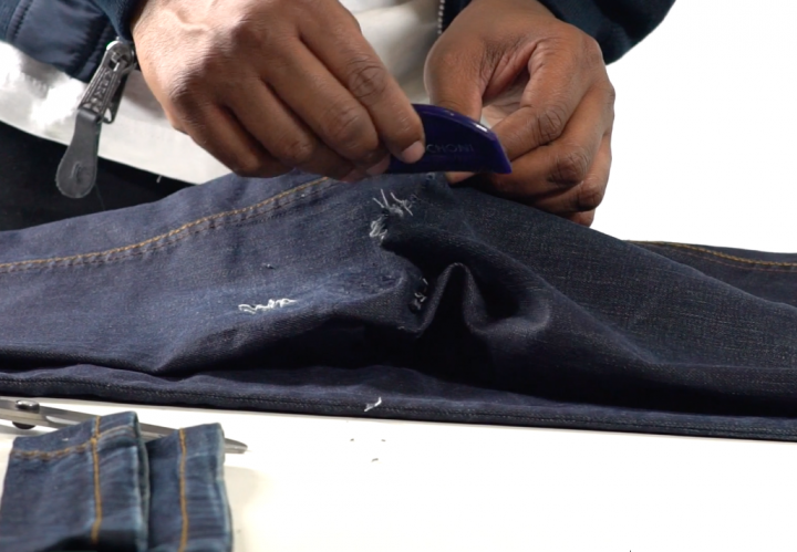 We Show You How To Distress Your Denim On Huffington Post @HuffingtonPost