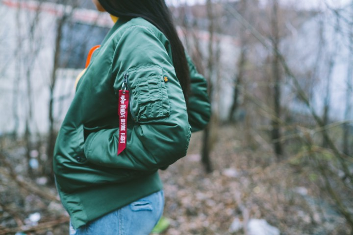 Alpha Industries MA-1 Flight Jacket For Her @AlphaIndustries
