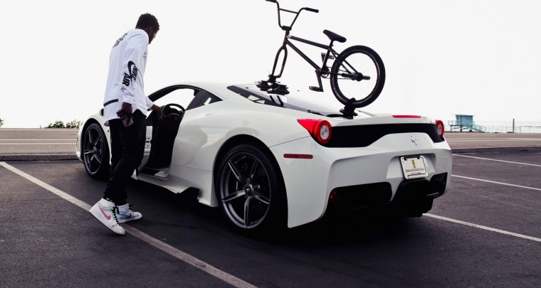 Watch Nigel Sylvester BMX Through NYC and LA For His GO! Series @NigelSylvester