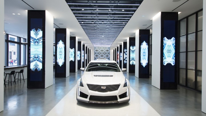 The Design-centric Cadillac House To Open At Their NYC Headquarters @cadillac