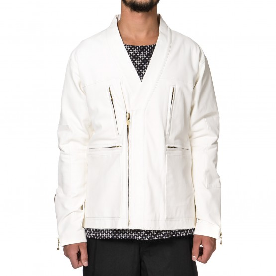 Blackmeans Has Created An Incredible White Leather Jacket
