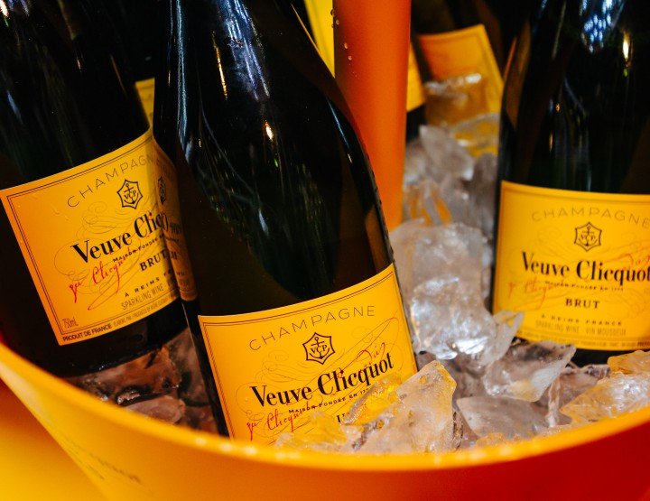 Veuve Clicquot's Yellow Brunch at Buonanotte @VeuveClicquot #Yelloweek