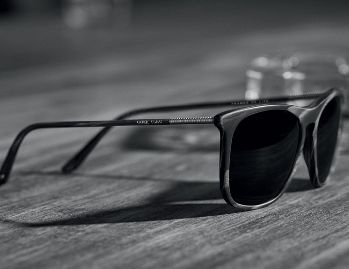 Armani's Newest Frame Collection Is Timeless @armani