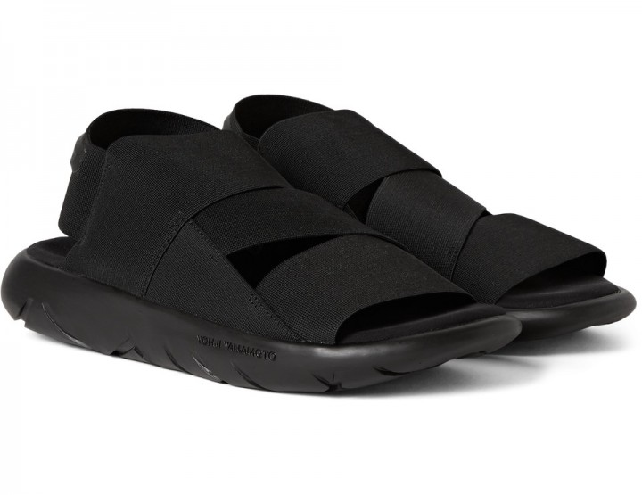 Y-3 Qasa Sandals Might Be The Only Pair You'll Need @adidasY3