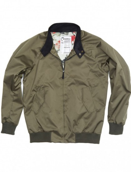Coldsmoke Adds Technical Fabrics To The Harrington Jacket @coldsmoke