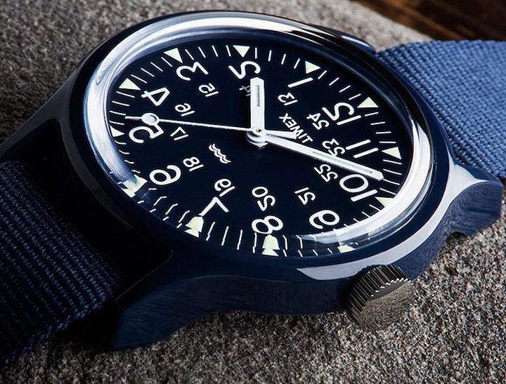 Timex X Engineered Garments Revamps The Camper Watch @timex