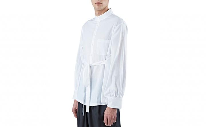 Wales Bonner Modernizes The Linen Shirt @wales_bonner
