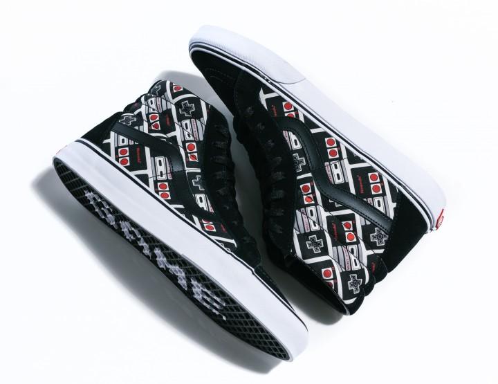 Get Nostalgic With Vans x Nintendo SK8-Hi Reissue Sneakers @VANS_66