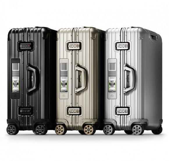 Rimowa Designs Luggage With Electronic Baggage Tag @RIMOWA