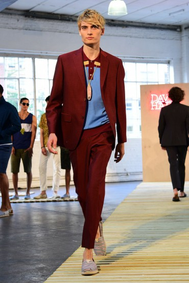Our Favourite Looks From David Hart Men's RTW Spring 2017 #NYMFW