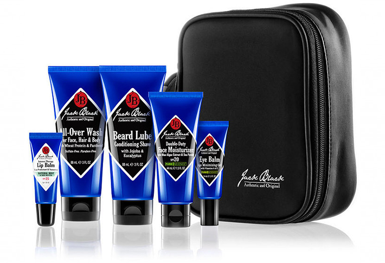 jack black skincare travel kit
