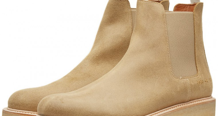 Streamline Your Chelsea Boots With A Pair From Common Projects
