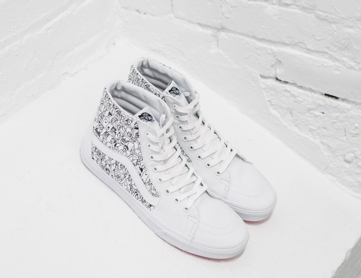 Take A Closer Look At The Vans & Osheaga SK8 Hi Sneaker