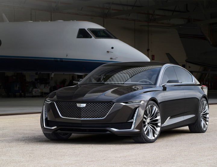 Cadillac Unveils Newest Escala Concept @Cadillac #Escala