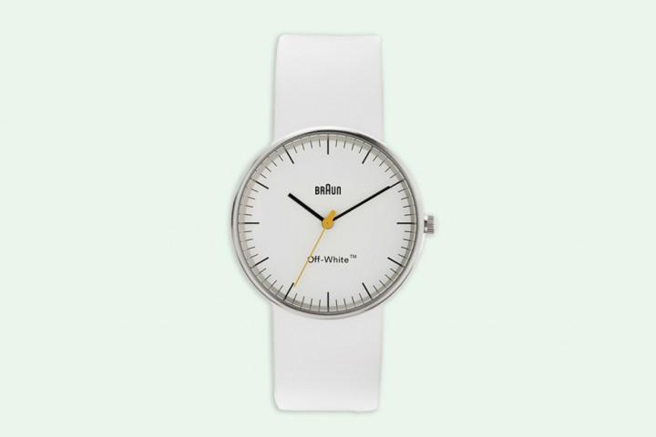 OFF-WHITE & Braun Release A Minimalist Timepiece