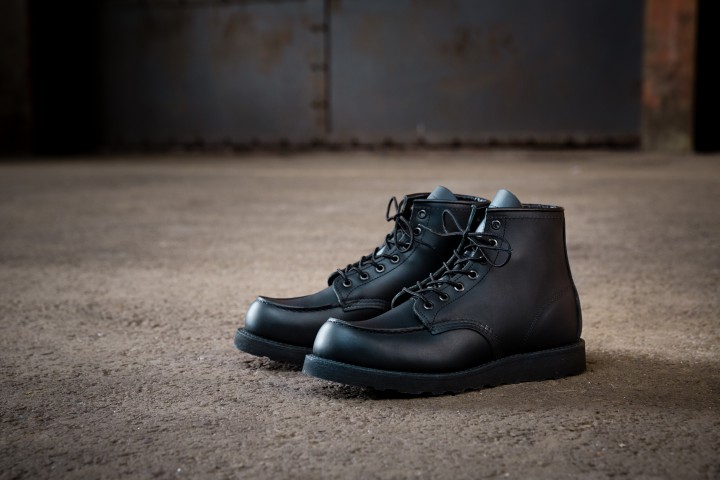 Red Wing Heritage Blacks Out Their 8137 Boot @RedWingHeritage