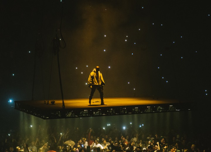 Visuals From Kanye West's Saint Pablo Tour In Montreal #SaintPabloTour