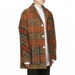 Acne Studios Multicolor Tweed Min Coat