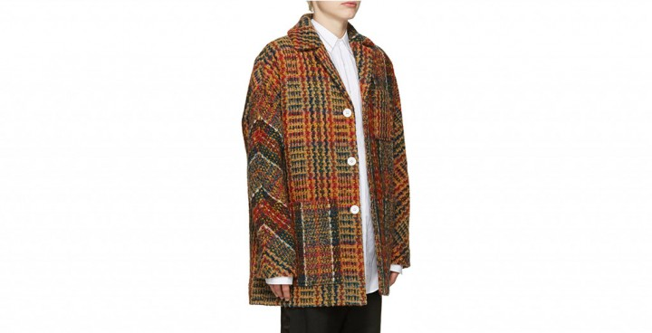 Update Your Tweed Coat With Acne Studios @acnestudios