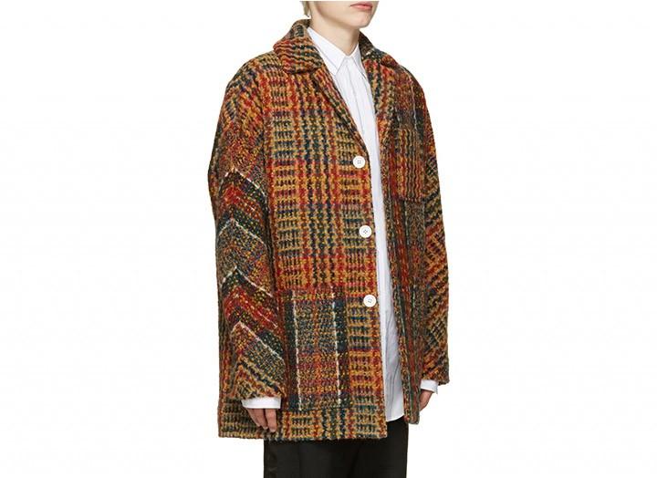 Update Your Tweed Coat With Acne Studios @acnestudios